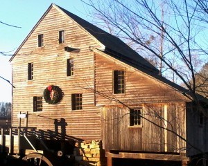 Yates Mill at Christmas