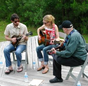 Musicians at Chickin Pickin'