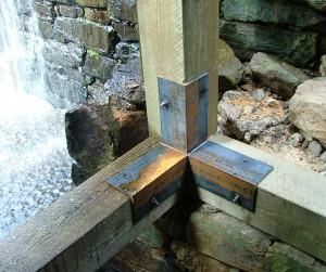Repaired Hurst frame beams